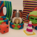 Stampa 3D multi-colore  da un singolo estrusore Diamond Hotend