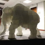 Mammut stampato in 3D al  National Science and Technology Museum di Taiwan