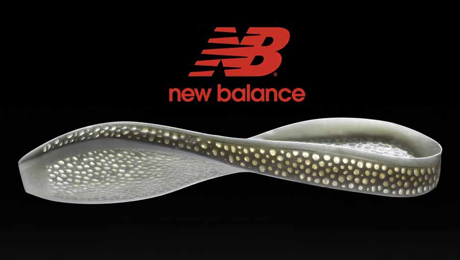 Intersuola stampa in 3D progettata da Nervous-System per New Balance