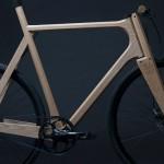 Amsterdam – Progetto di bici in legno e alluminio stampato in 3d