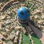 Modello della terra stampato in 3D – 420 metri il diametro