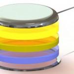 LED per lenti a contatto con display digitale stampate in 3d