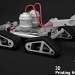 Agenzia spaziale europea esperimenti di stampa 3D a gravità zero su base lunare