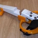 Stampato violino elettrico in 3D