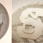 Pallone da footbal in titanio stampato in 3D