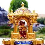 Stampato in  3D un tempio indù in oro e rubini da Cremagine , India