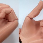 Protesi della mano realistica stampata in 3Da meno di  50 €