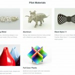 Shapeways Pilots – Prova materiali di stampa 3D