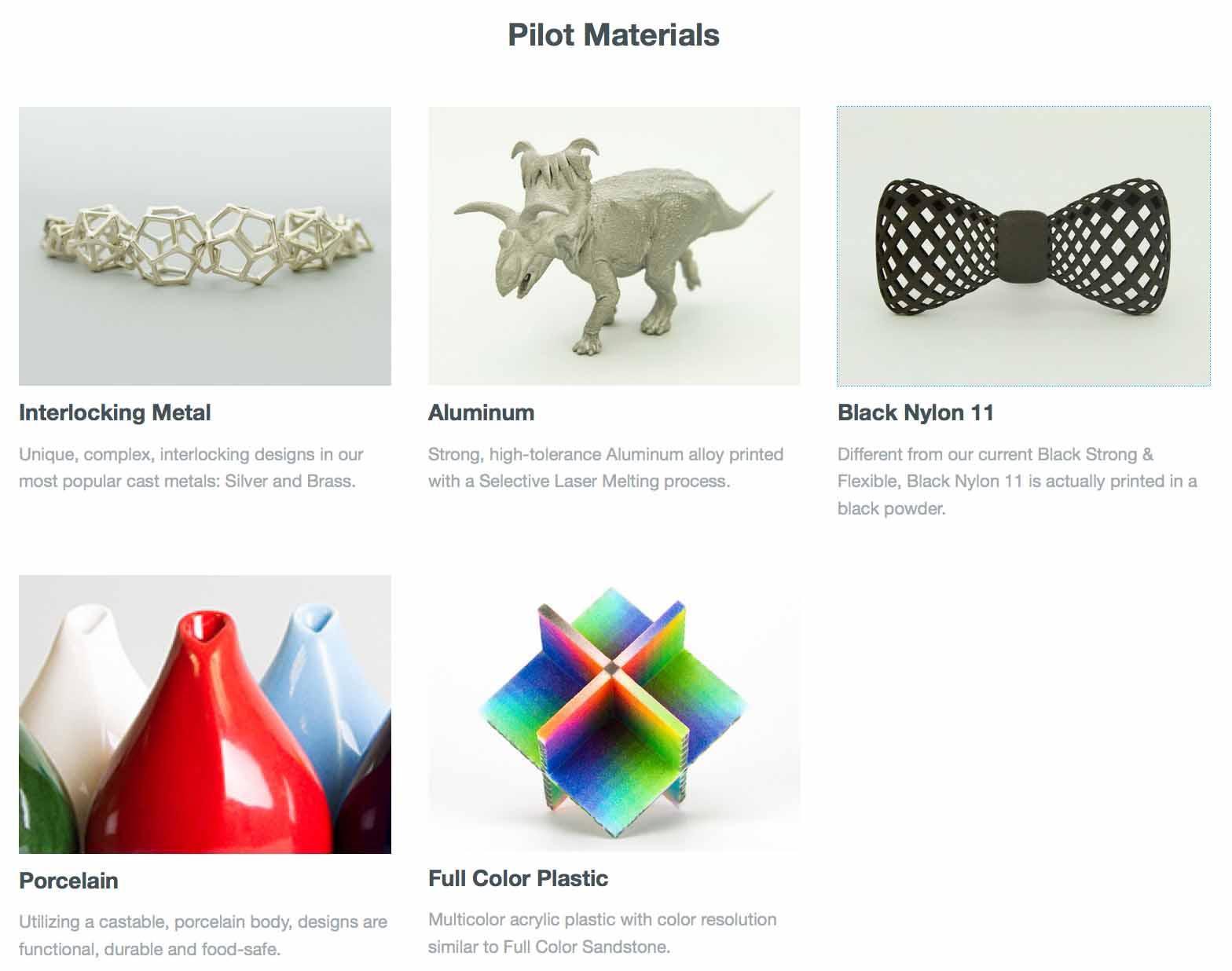 Pilot-Materials