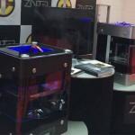 ZINTER Stampante 3D con 4 estrusori al 3DPrint Show di Londra