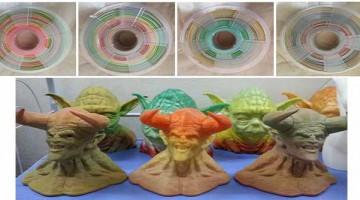 Stronghero ,filamento PLA con sfumatura di colori per Stampa 3D