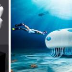 Primo Store subacqueo al mondo, creato da Sony con incredibili espositori stampati in 3d