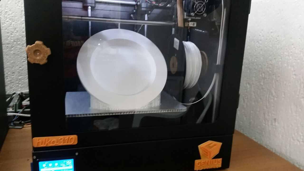 piatto stampato 3d