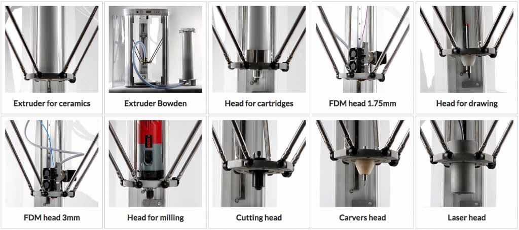 GAJA Multitool 3D utensili