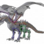 Dragón Braq – Drago articolato da stampare in 3D