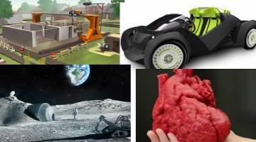 Auto, Case, Organi e altro stampati? Il futuro della stampa 3D