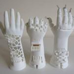 SLS nylon 3D Protesi stampata a mano finanziamento su GoFund