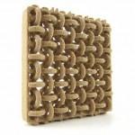 Legno stampato in 3D tramite SLS Sinterizzazione Laser Selettiva da Materialise