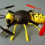Micro Drone a 100 $ da stampare in 3D e personalizzare a forma di Vespa