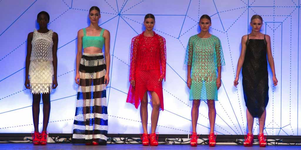 Danit peleg crea la prima collezione fashion interamente for Crea casa 3d