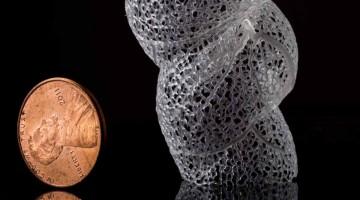 La alta risoluzione della stampante 3D Ember applicata ai modelli di  Nervous System