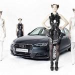 Collezione di Anouk Wipprecht stampate in 3D  per AUDI