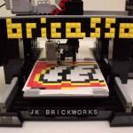 Bricasso, la stampante 3D LEGO