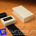 GyroPalm Stampato in 3D controlla tutti i dispositivi con il movimento della mano