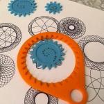 Spirografo stampato in  3D per tracciare geometrie affascinanti