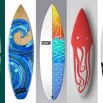 Tavole da surf personalizzate stampate in 3d