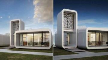 Palazzo per Uffici completo di arredi sarà stampato in 3D a Dubai