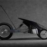 Auto RC futuristica stampata in 3D da uno studente d'arte