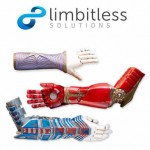 75 braccia bioniche stampate in 3D ai bambini siriani sfollati