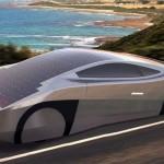 EVX Ventures svela Immortus macchina sportiva ad energia solare con componenti stampati in 3D