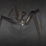 Modello 3D  scaricabile liberamente della settimana: Gun-Bot con animazione