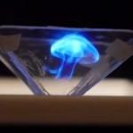 trasforma il tuo smartphone in un proiettore di ologramma con un piramide stampata in 3d