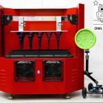 La stampante Morpheus 3D led/lcd per grande formato