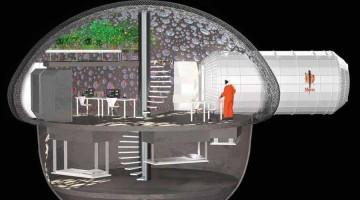 Scienziati francesi sviluppano Sfero, case stampabile 3D che può essere costruita su Marte