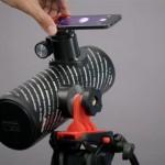 Adattatore per telescopio e smartphone stampato in 3d