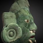 Modello stampabile della settimana – La maschera Maya di Calakmul
