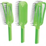 MAZE Hairbrush – La spazzola sostenibile e facile da pulire  stampata in 3D