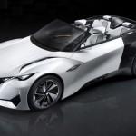 Peugeot Fractal audio concept car, con interni stampati in 3D al Salone di Francoforte