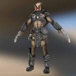 modello 3d scaricabile di Predator