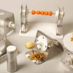 Utensili su misura  stampati in 3D da Gareth Ladley per cuochi di rivoluzionari