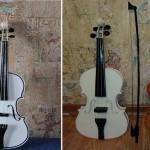 Russia Unico-3D crea un Violino acustico stampato in 3D