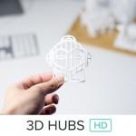 3D Hub HD servizio di stampa 3D a livello industriale disponibile in 37 città in tutto il mondo