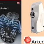 Artec 3D annuncia nuovo prodotto che automatizza il trasferimento da Scanner 3D al CAD