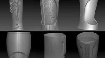 Create Prosthetics lancia la prima linea di gusci stampati in 3D per personalizzare le protesi