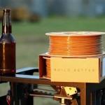 Buzzed, 3D filamento stampa a base di birra