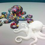 Post produzione a colori con la tecnica  water transfer di FINUVO